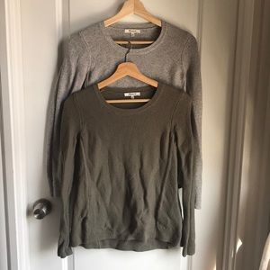 BUNDLE OF 2 Madewell Sweaters